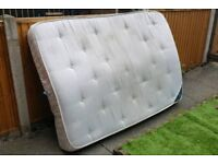 Bed mattress small double 120x190cm