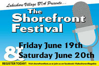 VENDOR CALL- THE SHOREFRONT FESTIVAL