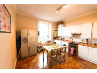 Spacious, furnished two-bedroomed flat to rent in the heart of the New Town