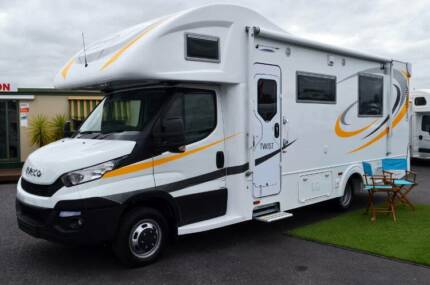 Twist Sunliner Motorhome - New Iveco 50-170 - 8 Speed Auto - Wodonga Wodonga Area Preview