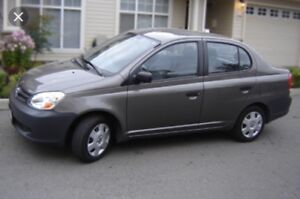 2005 Toyota Echo. Trade for pickup
