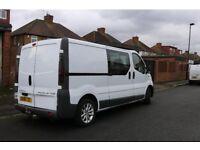 Vauxhall Vivaro crew van 6 seater 125000 miles, excellent condition