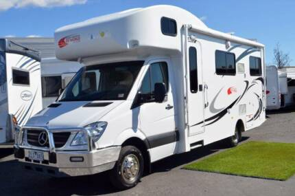 TALVOR KEPPEL MOTORHOME USED - 6 BERTH - LOW KMS - GREAT VALUE Wodonga Wodonga Area Preview