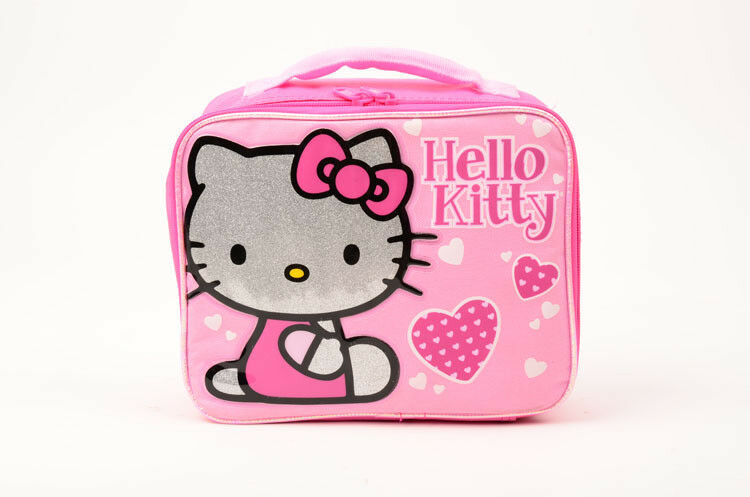 Sanrio Hello Kitty Canvas Grils Lunch Bag/Box