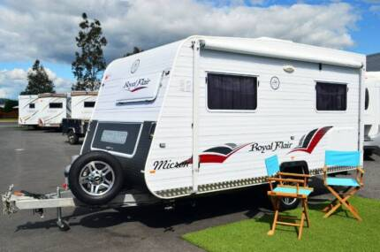Royal Flair Micron Caravan - Shower / Toilet - Solar Wodonga Wodonga Area Preview