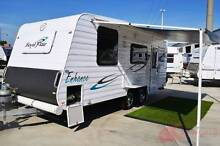 Royal Flair Enhance Used Caravan - Excellent layout -Island Queen Wodonga Wodonga Area Preview