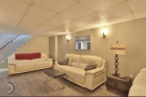 All leather couches