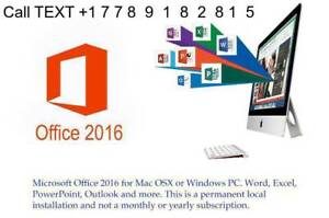 Microsoft Office 365 - 2016 | MS WORD EXCEL Outlook   PC/MAC