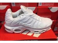 Nike Tn all white new in box size 8 & 9 reduced