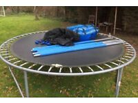 10 FT Trampoline with Enclosure.