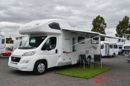AVAN OVATION M6 MOTORHOME NEW - 4 BERTH - TOW BAR - DIESEL HEATER Wodonga Wodonga Area Preview