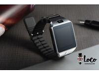 Bluetooth Smartwatch | Camera | Touch screen | SIM free