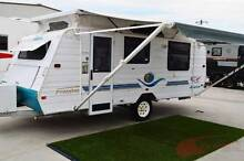 Jayco Freedom Poptop Used Caravan - Very tidy- Island bed Wodonga Wodonga Area Preview