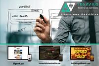 Web Development - The AV Kid Technical Services