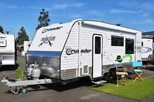 Crusader Musketeer Athos New Caravan - Queen Bed - 120w Solar Wodonga Wodonga Area Preview