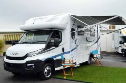 Sunliner Holiday H507 Motorhome- New Iveco - Slide out - Ensuite Wodonga Wodonga Area Preview
