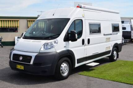Fiat Ducato Used Campervan - 36,800kms - Shower / Toilet Wodonga Wodonga Area Preview