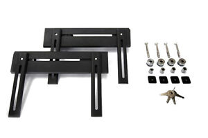 Best Brackets Heavy-Duty Quick Release Saddlebag Mounting System