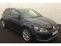 VOLKSWAGEN GOLF 1.4 TSI MATCH SE 1.6 1.9 2.0 TDI SPORT GTD GTI FROM £57 PER WEEK