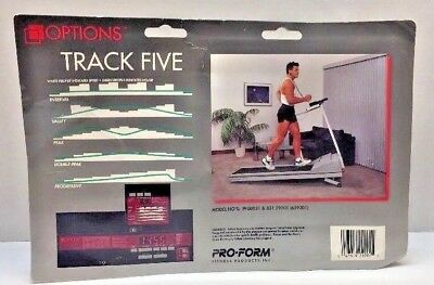Pro-Form Options Track Five Treadmill Computer Brand NEW never opened