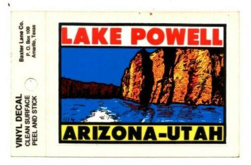 Lot of 12 Lake Powell Arizona - Utah Souvenir Decals Stickers - New - Free S&H