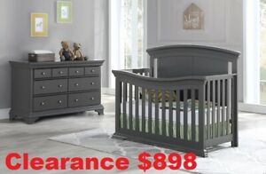 MARCH MADNESS SALE! Gliders, Crib sets, & Bunk beds