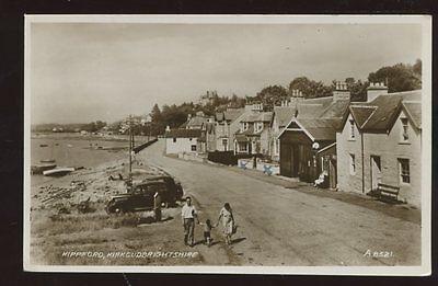 Scotland Kirkcudbrightshire KIPPFORD 1942 RP PPC