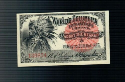 1893 Indian Chief World