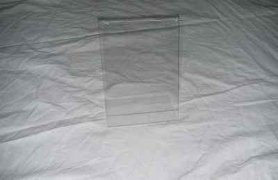 100 x Plexiglasaufsteller DINA5 Sonderposten Einschubfächer Ständer Plexiglas