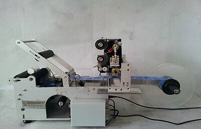 In Usa Stockautomatic Round Bottle Labeler Machine With Date Code Printer