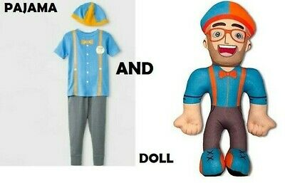 Blippi Pijama for kids.+ BLIPPI DOLL- BEST XMAS GIFT- FREE (Best Xmas Gifts For Kids)