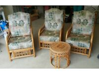 Bamboo Conservatory Chairs & Table