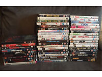 Joblot 50 DVD bundle Horror, Chic Flick, Motor
