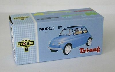 Spot-On #185 Fiat 500 Reproduction Box by DRRB