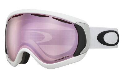 Oakley Canopy Snow Goggles Ski Snow Boarding Matte White Frame Prizm Hi (New Oakley Ski Goggles)