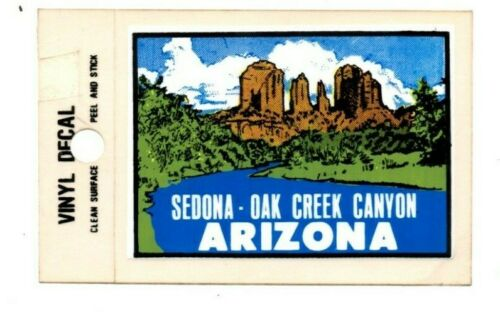 Lot of 12 Sedona AZ Oak Creek Canyon Souvenir Decals Stickers - New - Free S&H