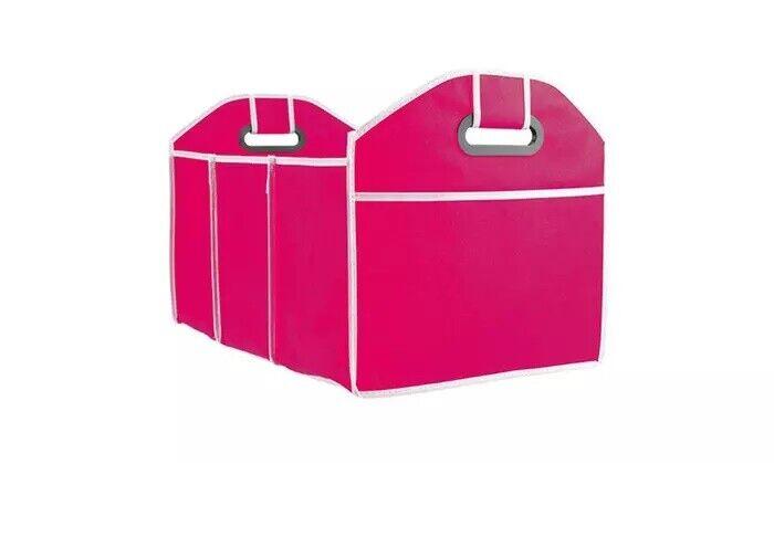 Trunk Organizer Storage Bin Bag Collapsible Fold Grocery Caddy Car Truck Auto Car & Truck Parts