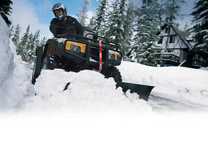 WARN ATV / UTV SNOW PLOWS ARE NOW IN STOCK & ON SALE!!!