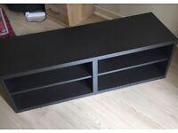 Black Tv Stand/Unit - Excellent Condition