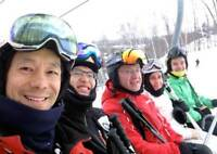 Friendly Ski Training Group With Lessons
