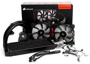 Corsair H100i All In One CPU Water Cooler