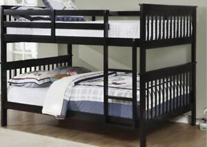 Double over Double Bunk Bed - Brand New