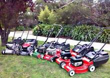 2 & 4 stroke Lawn Mowers with CATCHER & WARRANTY Sunbury Hume Area Preview