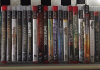 PS3 Games God of War Ratchet Clank Call of Duty Transformers