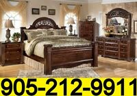 6pcs GABRIELA ASHLEY BEDROOM SET ONLY $1599