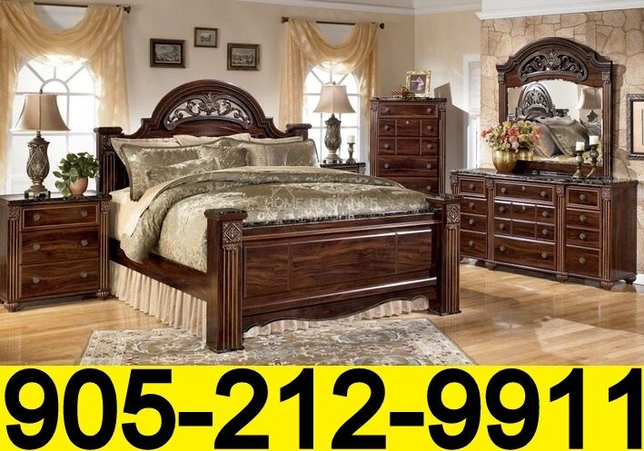 Blowout Sale On Ashley Bedroom Sets Free Home Delivery Beds Mattresses Mississauga Peel