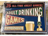 25 All Time Great Adult Drinking Game Compendium. Lagoon Games. Complete And VGC.