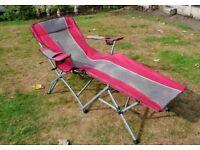 Gelert reclining folding sun Camping chair
