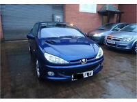 LOW MILEAGE 2004 Peugeot 206 1.6 Allure 2dr Full Leather