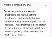 KERTIN BLOW DRY, prices start from £50